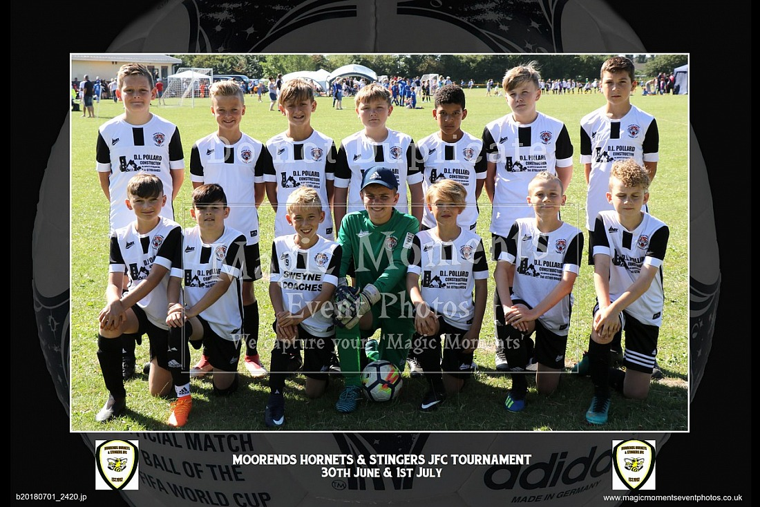 Moorends Hornets & Stingers JFC Tournament 2018